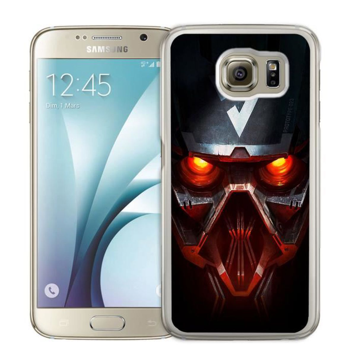 COQUE - BUMPER Coque Samsung Galaxy S6 Edge : Killzone Hellghast