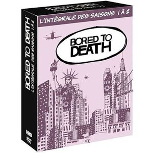 BLU-RAY FILM DVD Bored to death saisons 1 et 2