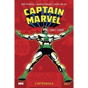 COMICS Captain Marvel : Intégrale. Tome 1, (1967-1969)
