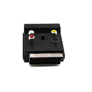 CÂBLE TV - VIDÉO - SON HDMI31®Adaptateur PÉRITEL commutable sur Socket av