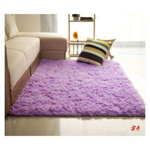 TAPIS Trendy Tapis de salon Shaggy Violet 160x230 cm