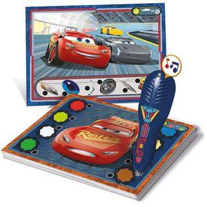 TABLE JOUET D'ACTIVITÉ CARS 3 Quizzy Clementoni