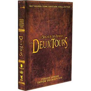 DVD FILM LE SEIGNEUR DES ANNEAUX LES DEUX TOURS 4 DVD
