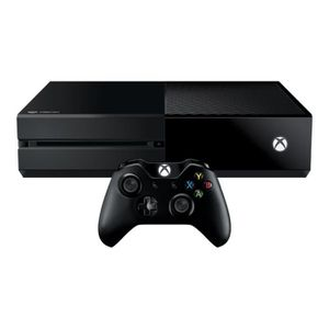 CONSOLE XBOX ONE Microsoft Xbox One Console de jeux 1 To HDD noir