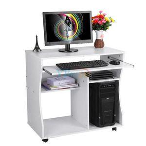 meubles ordinateur achat vente meubles ordinateur pas cher cdiscount. Black Bedroom Furniture Sets. Home Design Ideas