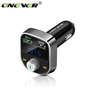 TRANSMETTEUR FM ONEVER Chargeur Bluetooth FM Transmetteur Lecteur