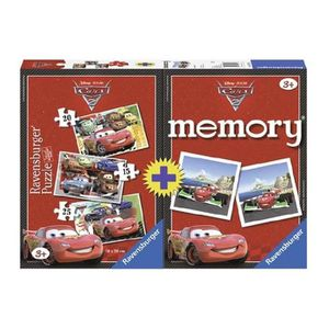 PUZZLE CARS Multipack Puzzle + Memory - Disney