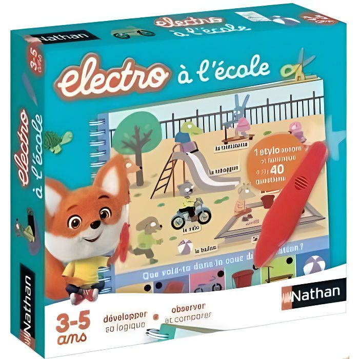NATHAN Petit Electro - A l'école NEW PACK