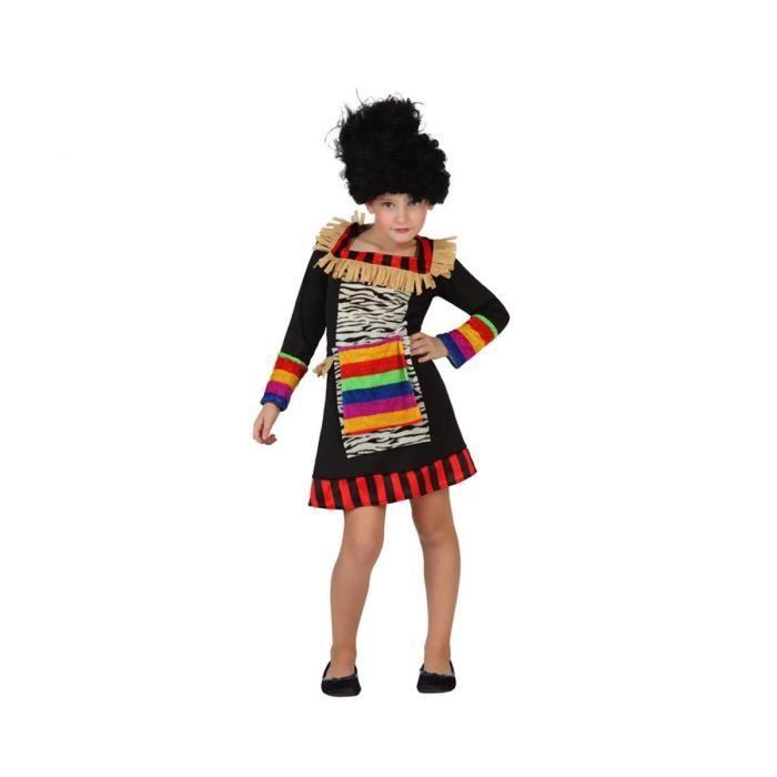 ATOSA Deguisement De Zoulou Fille - Panoplie Enfant