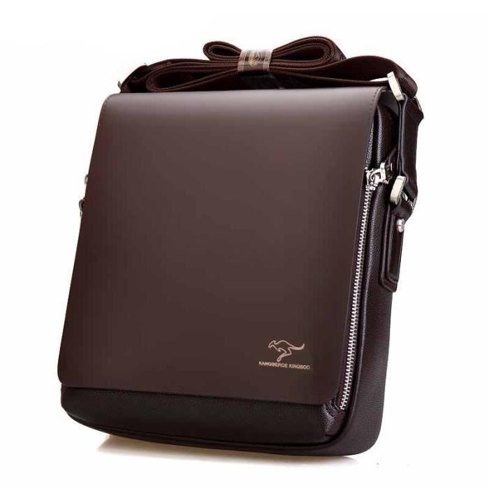 sac à main Messenger Bag Men Big Promotion Kangourou Marque Sac homme Sacs pour hommes Porte-documents hommes épaule Casual-292