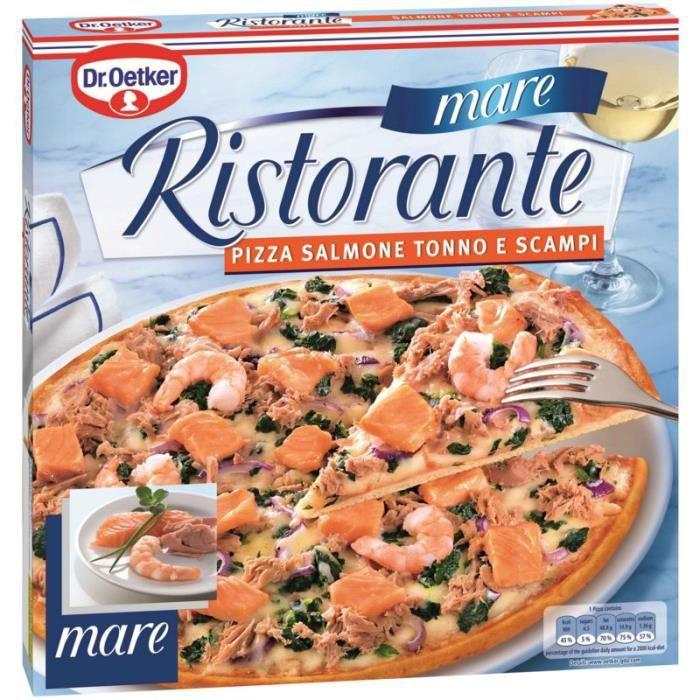 DR OETKER Pizza ristorante salmone tonno scampi 350g - Achat   Vente ... efceb792be88