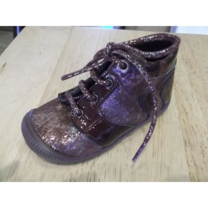 Chaussures enfants Botillons bébés filles Little Mary