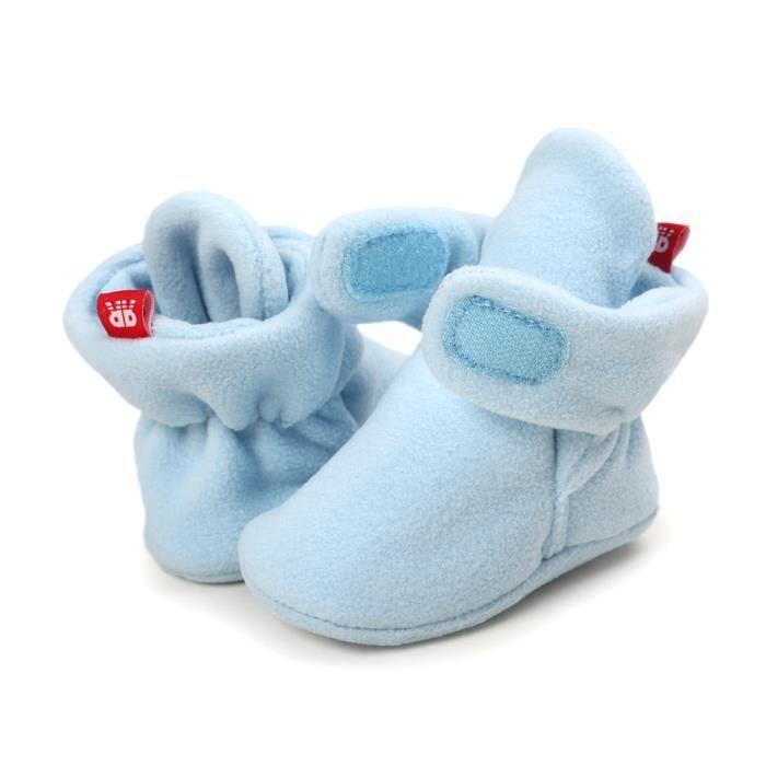 tout ciel bébé Bottes petits neige souples souples de pour pour BOTTE Bottes semelles Chaussures à de Bleu crèche TxU6Sq