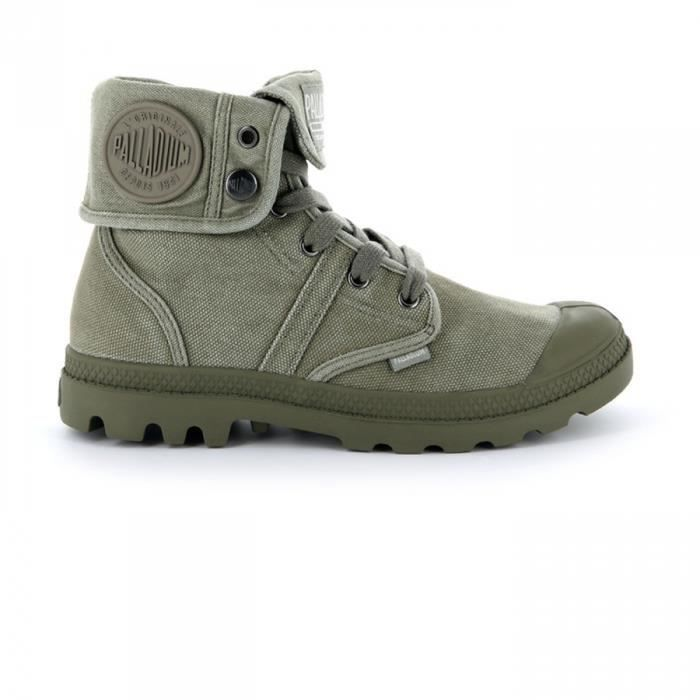 Palladium W Olive Vetiverburnt Us Chaussures Baggy Pallabrouse wzv0qpg