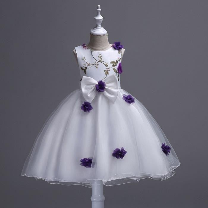 d00d4409e7 Robes Neuf filles papillon robe de soirée en bleu jaune vert 4 5 6 7 8 ans  ...