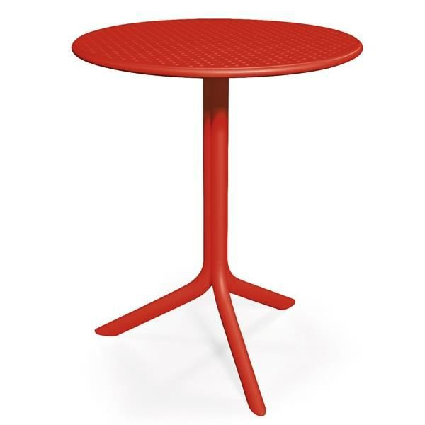 Table ronde NARDI Step 60 cm - Rouge