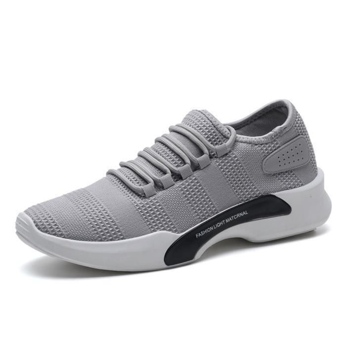 Basket Homme Ultra Comfortable Occasionnelles Chaussure BDG-XZ011Gris-39 YkYaPZoV