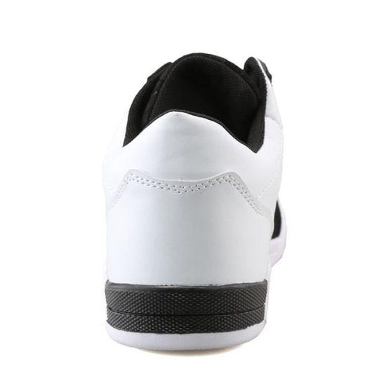 Chaussures De Sport Pour Hommes en daim Textile Blanc De Course Populaire LLT-XZ126Blanc40 Blanc Textile Blanc - Achat / Vente basket ed7197