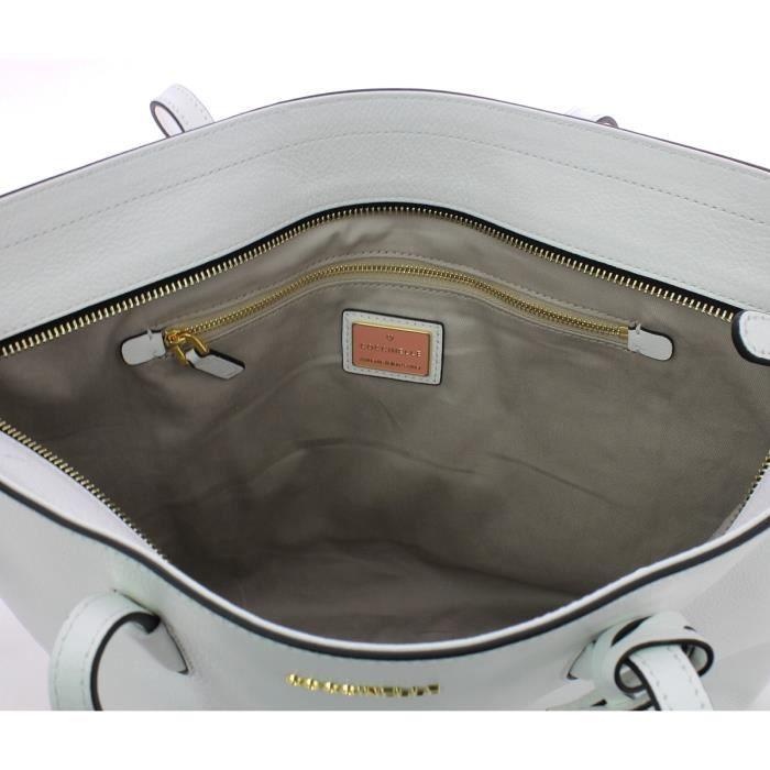 Coccinelle - Sac épaule en soft vachette - BF8110301-BLANCHE-UN - BLANCHE