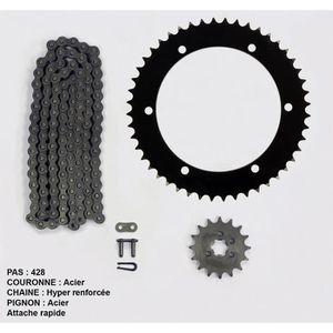 Kit chaîne pour Yamaha Ybr 125 de 05-06