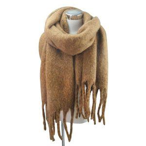 ECHARPE - FOULARD Écharpe femmes écharpe chaude solide étole châle 35febd00f2d