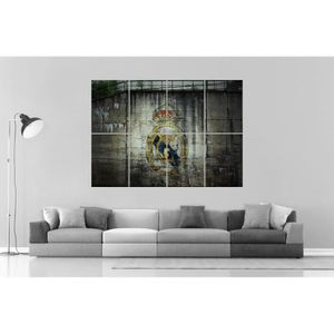 AFFICHE - POSTER REAL MADRID FC FOOTBALL CR7 Wall Art Poster Grand