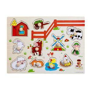 puzzle bois bebe achat vente jeux et jouets pas chers. Black Bedroom Furniture Sets. Home Design Ideas