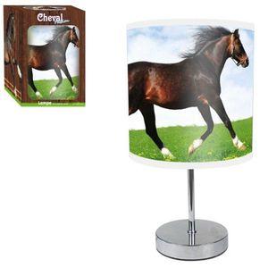 LAMPE A POSER Lampe Cheval au pré