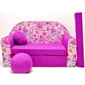 canape convertible enfant achat vente canape convertible enfant pas cher cdiscount. Black Bedroom Furniture Sets. Home Design Ideas