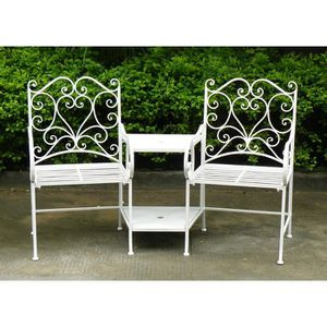 Chaise jardin fer forge - Achat / Vente pas cher