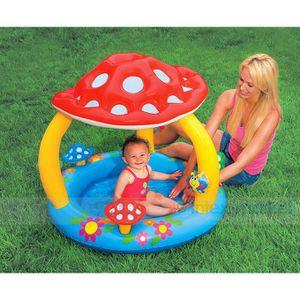 JEUX DE PISCINE Piscine Gonflable Enfant   bébé,pare-soleil 102×89 258cfb86143