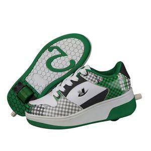 BASKET Mode respirante chaussures à roulettes enfants un