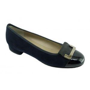 BALLERINE GABI - Ballerine à talon bout vernis chaussures fe