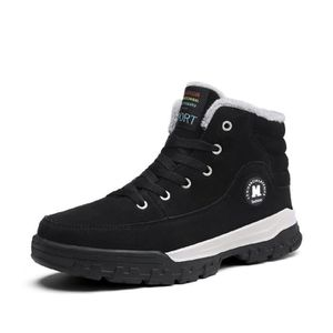 Causal Winter Snow Boots Skate Shoes With Velvet CI7ZN Taille-39 AJlUT