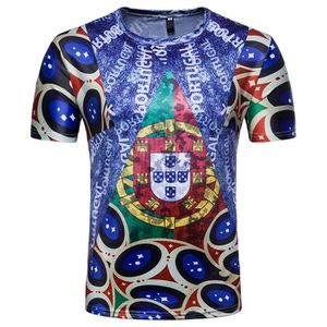 fe20addb7517 T-SHIRT Whatlees T-Shirt Homme Slim Fit FIFA Football Coup