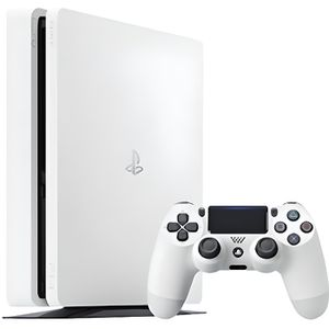 CONSOLE PS4 Console PlayStation 4 Chassis D 500Go, Slim Blanc-