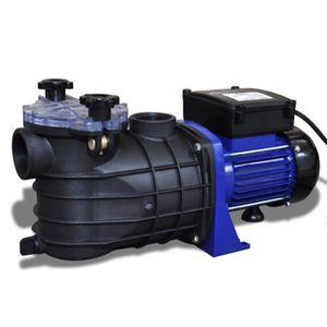 TRAITEMENT DE L'EAU  Pompe filtration piscine 600 W Bleu