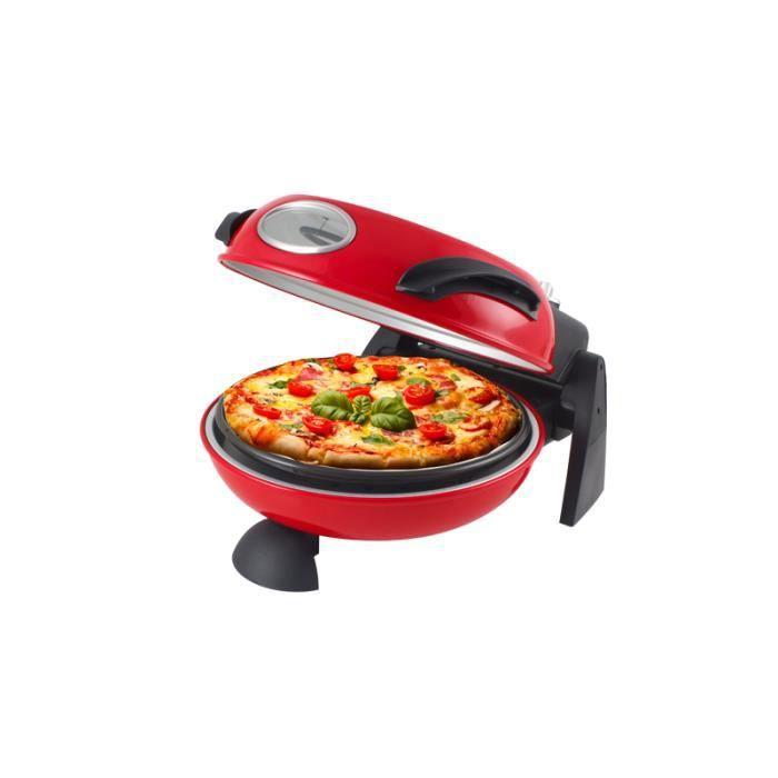 BEPER 90371 Four à pizzas - Rouge