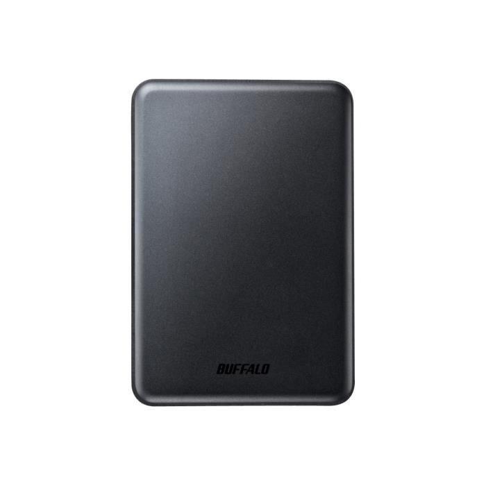BUFFALO Disque dur MiniStation Slim - 1 To - Externe pour portable - USB 3.0 - noir