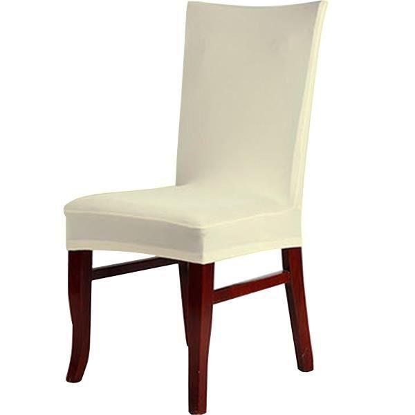 Chaises de salle a manger couleur creme achat vente for Chaise de salle a manger de couleur