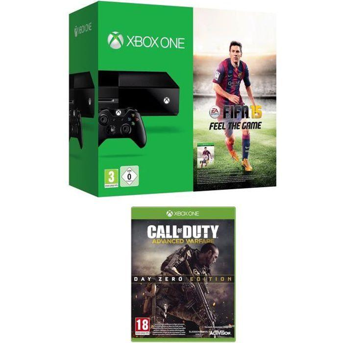 CONSOLE XBOX ONE Console XBOX One + Call of duty Advanced Warfare
