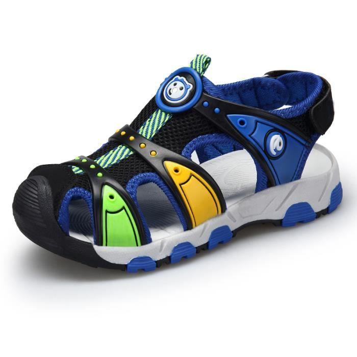 SANDALE - NU-PIEDS Enfant Sandales Garçons Mode Respirante Chaussures