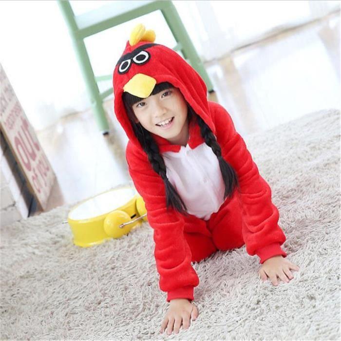 xxl Oiseau Flanelle Blanc Supérieure Plus S Halloween Enfants Pyjamas Pour Qualité Costume À Charmant Cosplay Taille Capuche Mixte TAnqwY