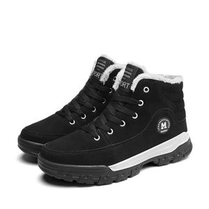 Causal Winter Snow Boots Skate Shoes With Velvet CI7ZN Taille-39 A1tRIMGO