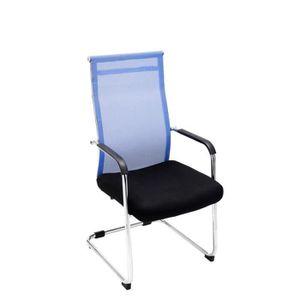 Fauteuil de bureau sans roulette achat vente pas cher - Chaise de bureau avec accoudoir ...