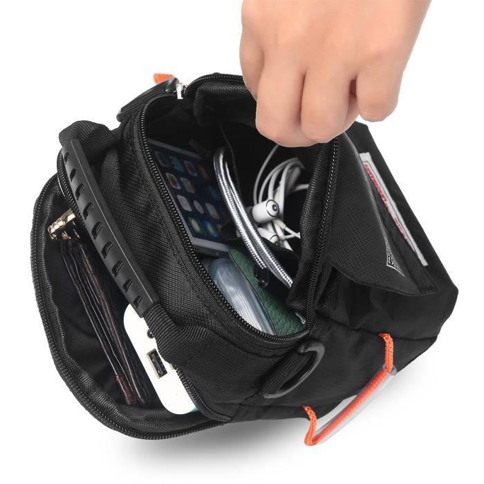 sac à bandoulière étanche universel petit sac de messager sac à main sac de téléphone portable cross body bag bel 1DSQJ2