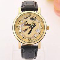 BRACELET DE MONTRE montre bracelet doré Hommes amateurs vraiment creu
