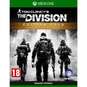 JEU XBOX ONE The Division Edition Gold Jeu Xbox One
