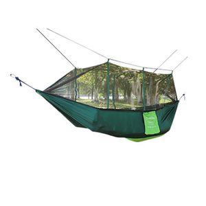 MOUSTIQUAIRE CAMPING Hamac double parachute double grand jardin extérie