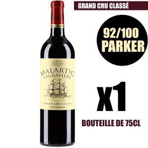 VIN ROUGE X1 Château Malartic-Lagravière 2014 75 cl AOC Pess